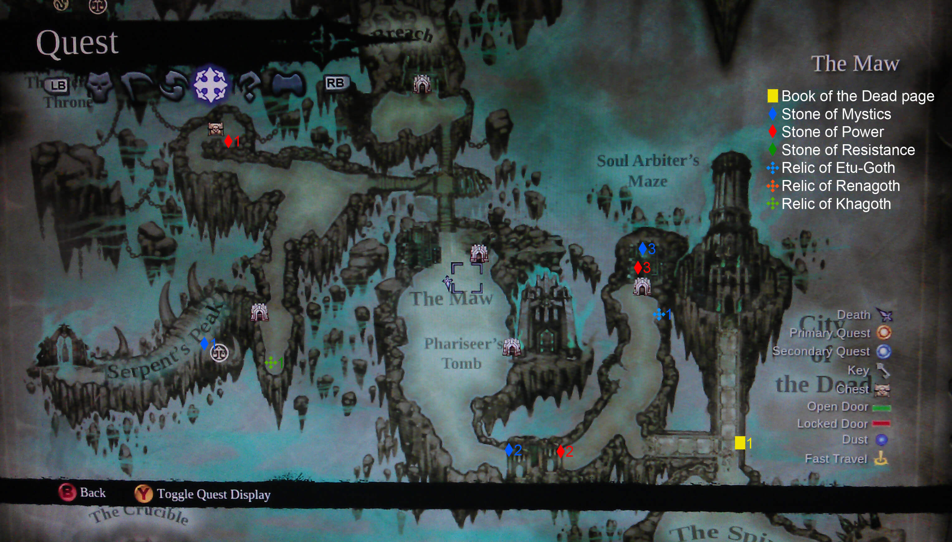 darksiders 2 book of the dead pages 21-30