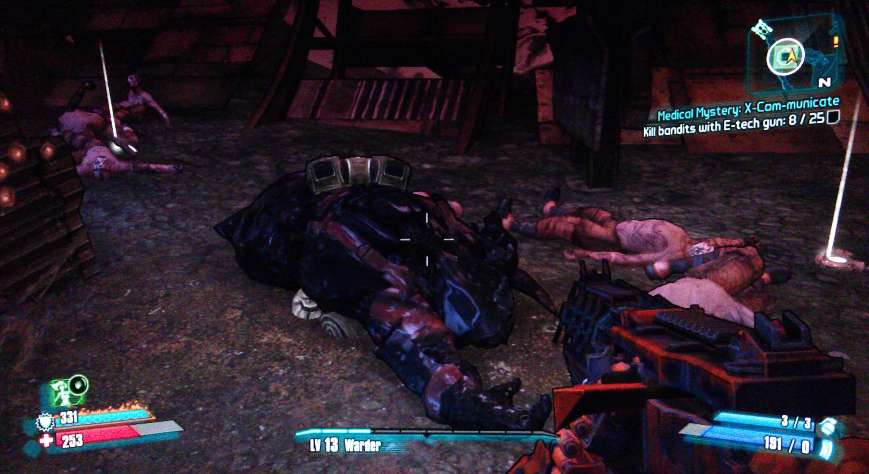 Borderlands 2 Medical Mystery: X-Com-municate Walkthrough