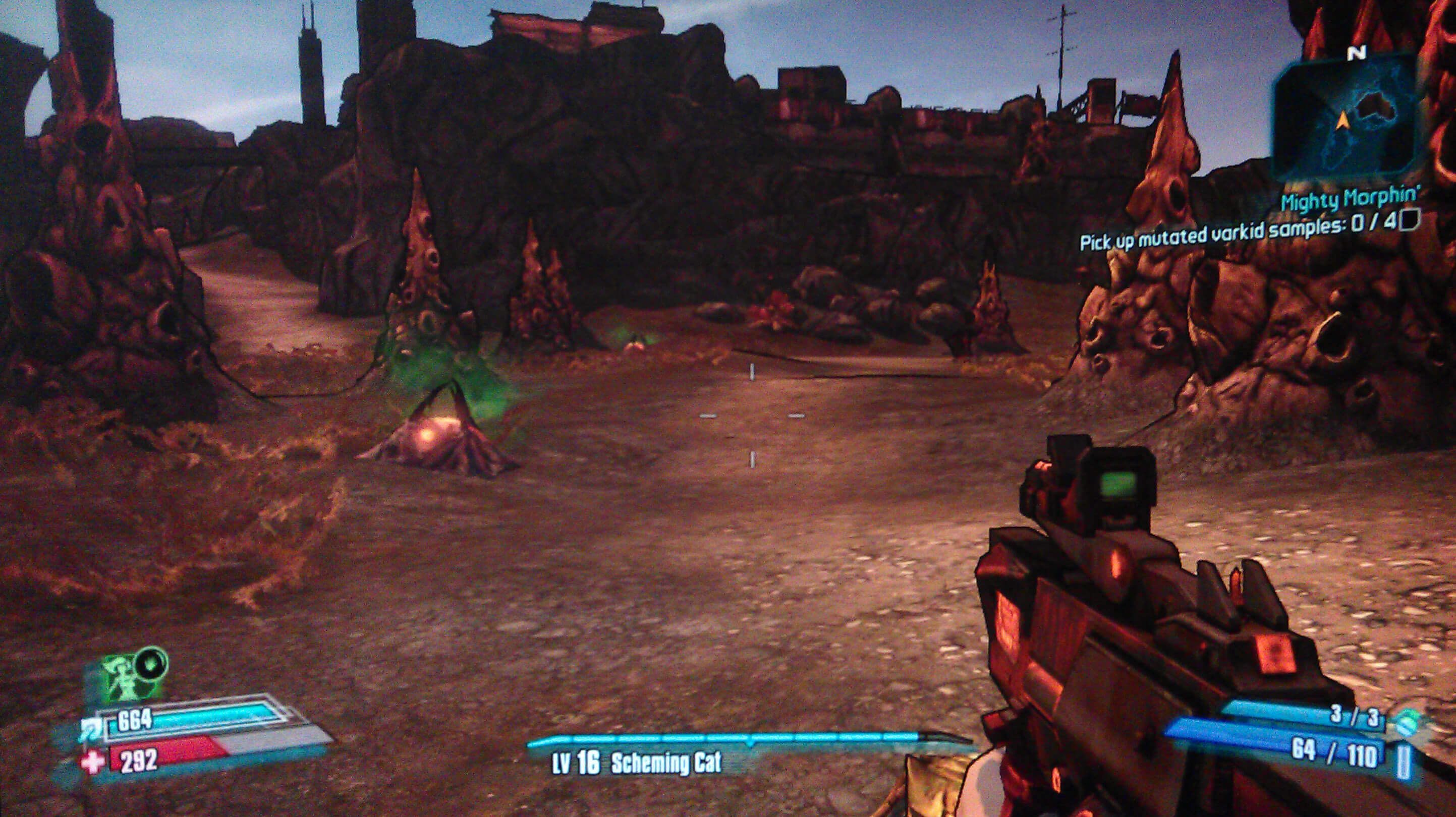 Borderlands 2 Mighty Morphin' Walkthrough