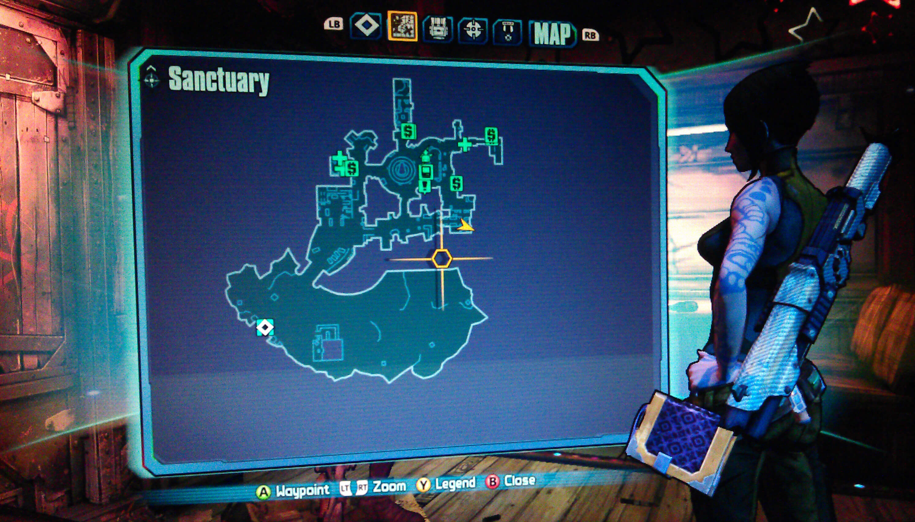Borderlands 2 Sanctuary Walkthrough - VGFAQ Borderlands 2 Walkthrough
