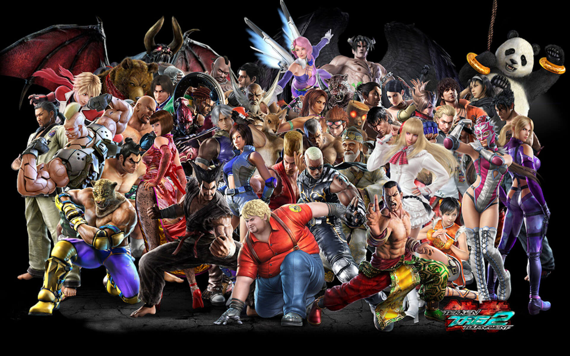 Tekken Tag Tournament 2 Characters List