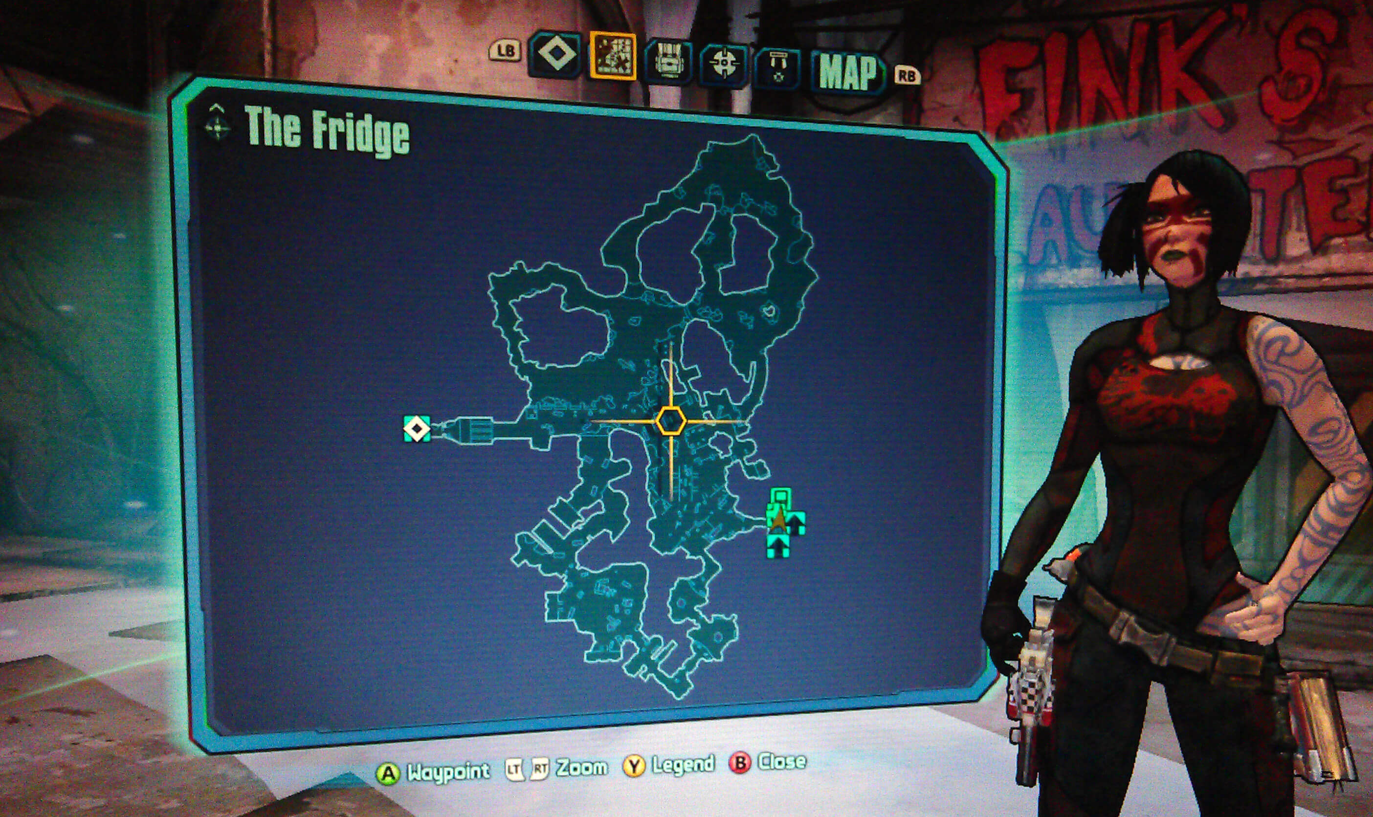 Borderlands 2 The Fridge Walkthrough - VGFAQ Borderlands 2 Walkthrough
