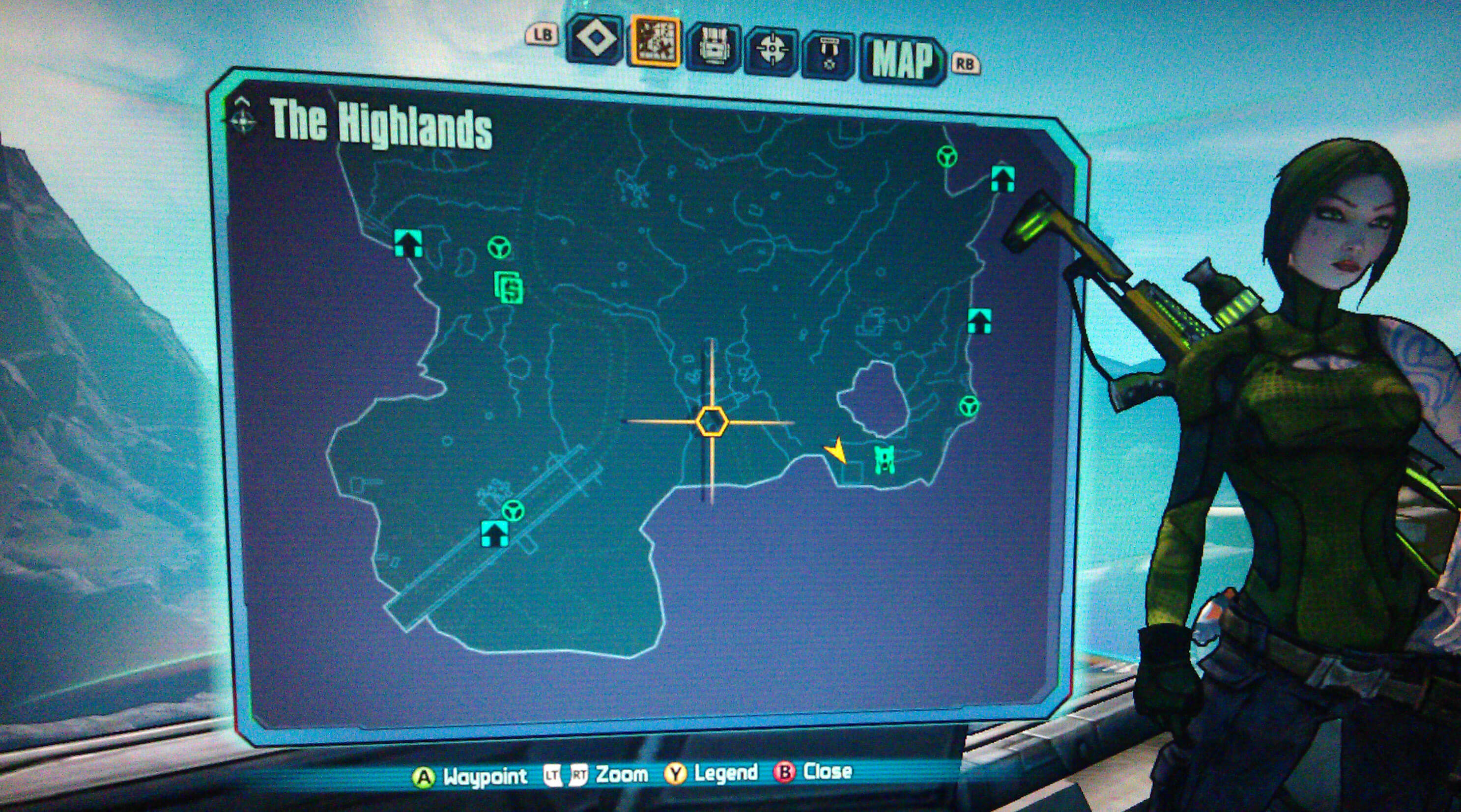 Borderlands 2 The Highlands Walkthrough - VGFAQ Borderlands 2 Walkthrough
