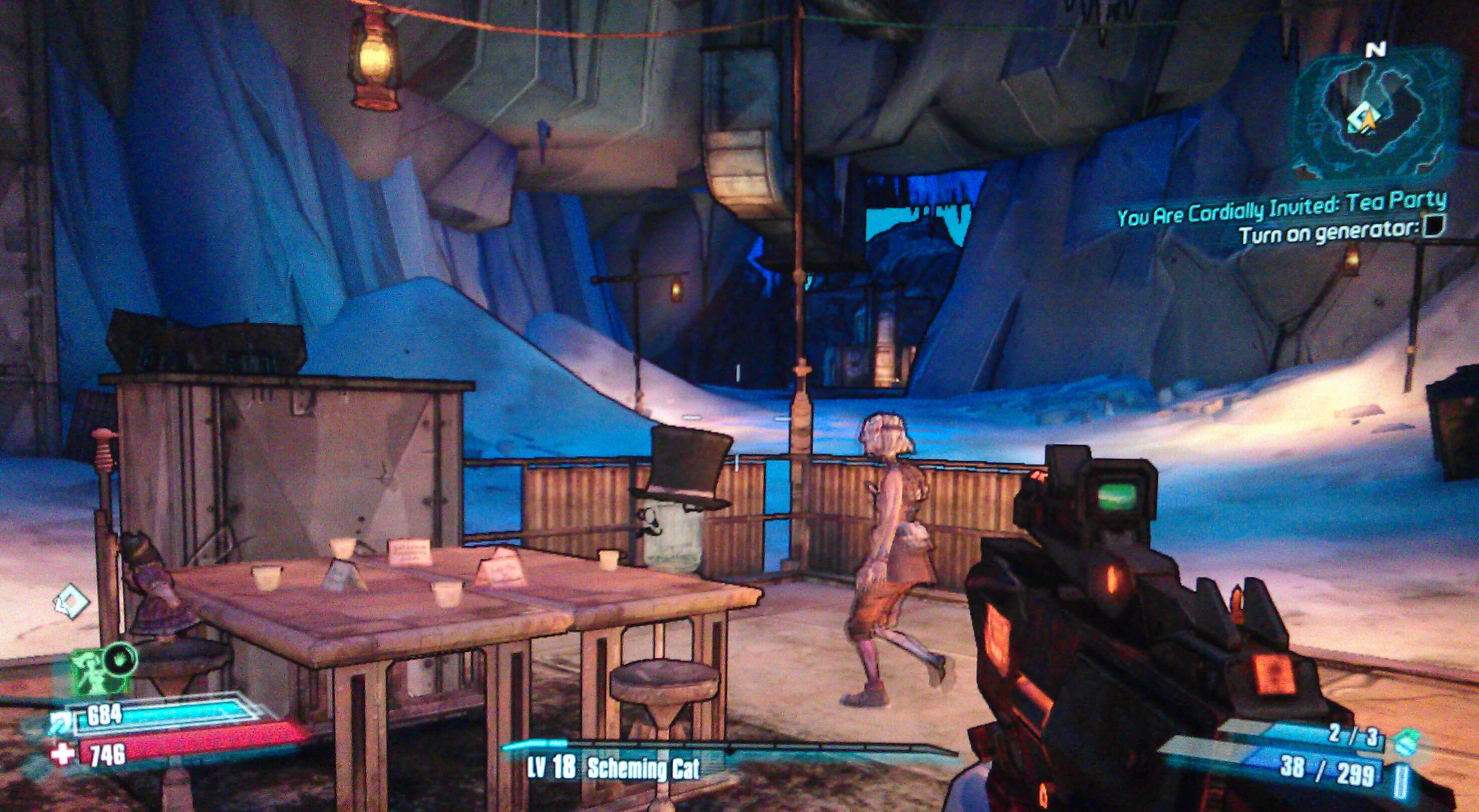 Borderlands 2 You Are Cordially Invited: Tea Party ... Borderlands 2 Walkthrough