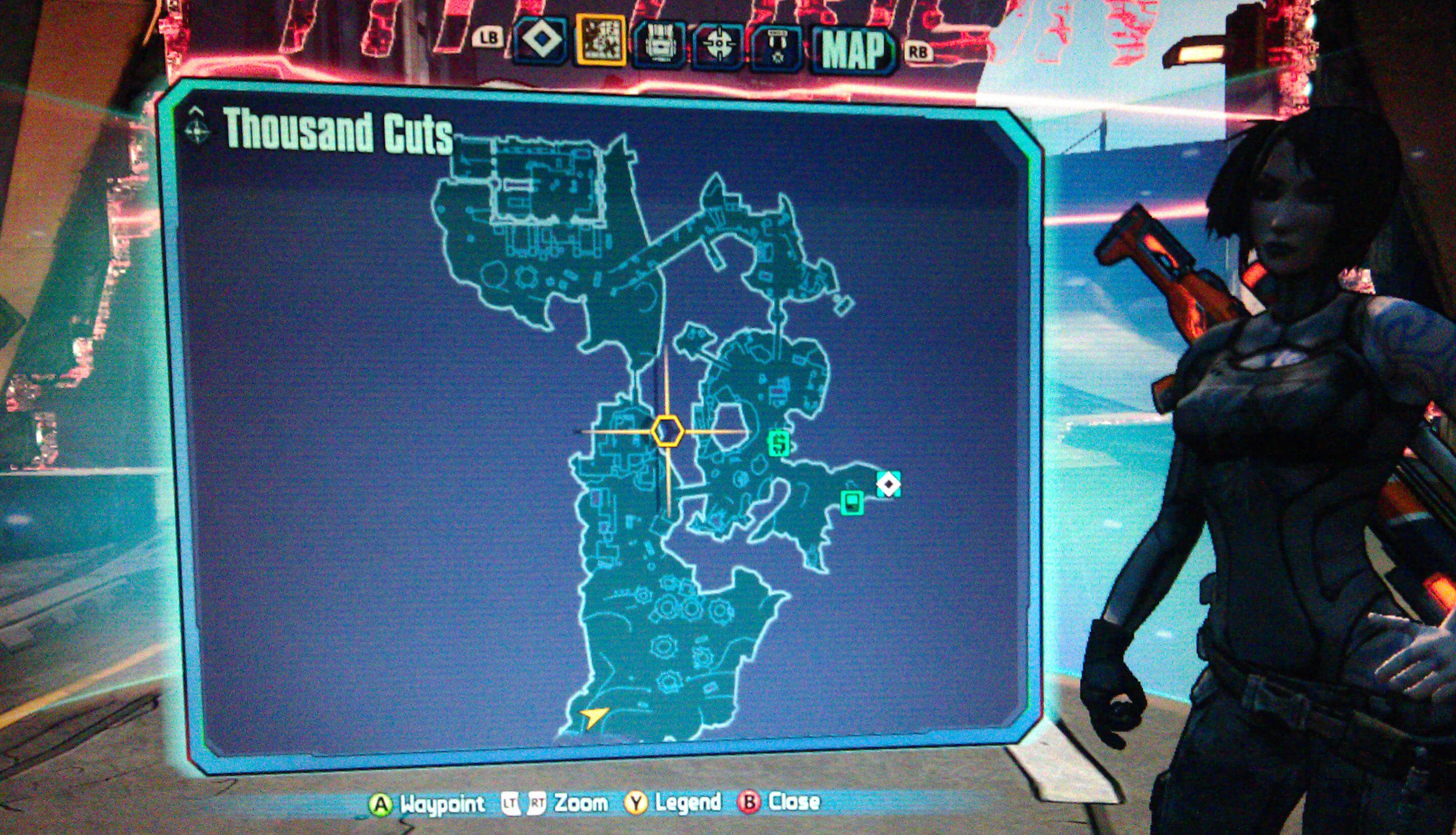 Borderlands 2 Thousand Cuts Walkthrough - VGFAQ Borderlands 2 Walkthrough