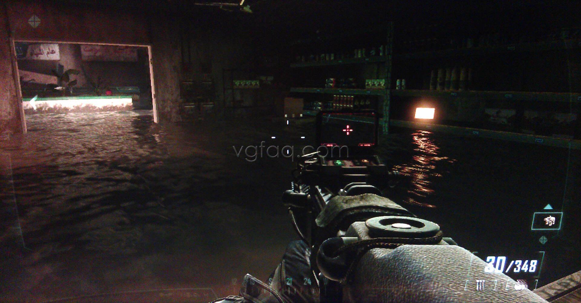 Black Ops II Fallen Angel Intel #1 Location