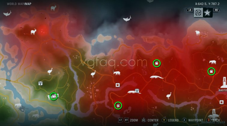 Far Cry 3 Badtown Memory Cards Locations