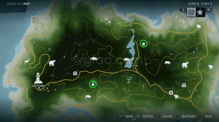Far Cry 3 Gaztown Memory Cards Locations