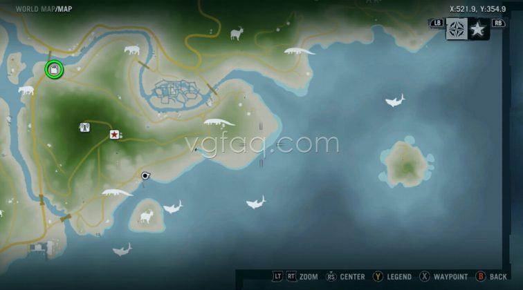 Far Cry 3 Break Point Docks Memory Cards Locations