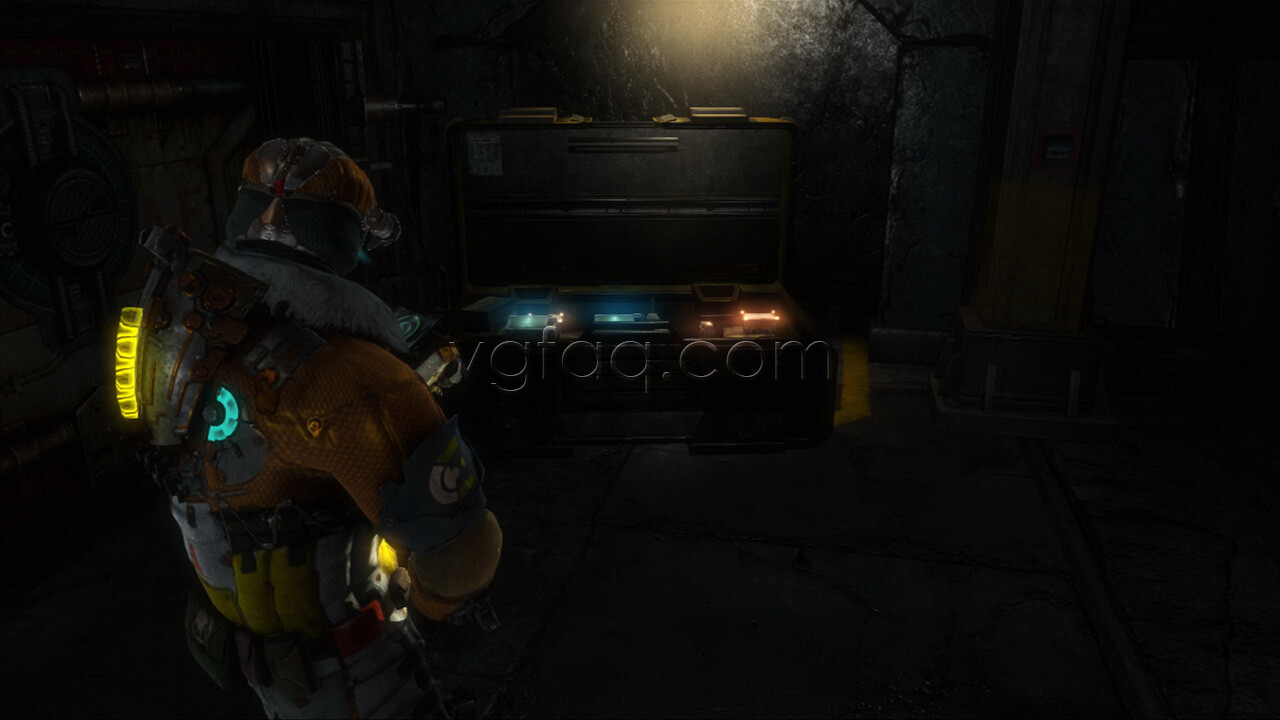 Dead space 3 chapter 11 collectibles locations vgfaq dead space 3 armory weapon part 4 location malvernweather Image collections