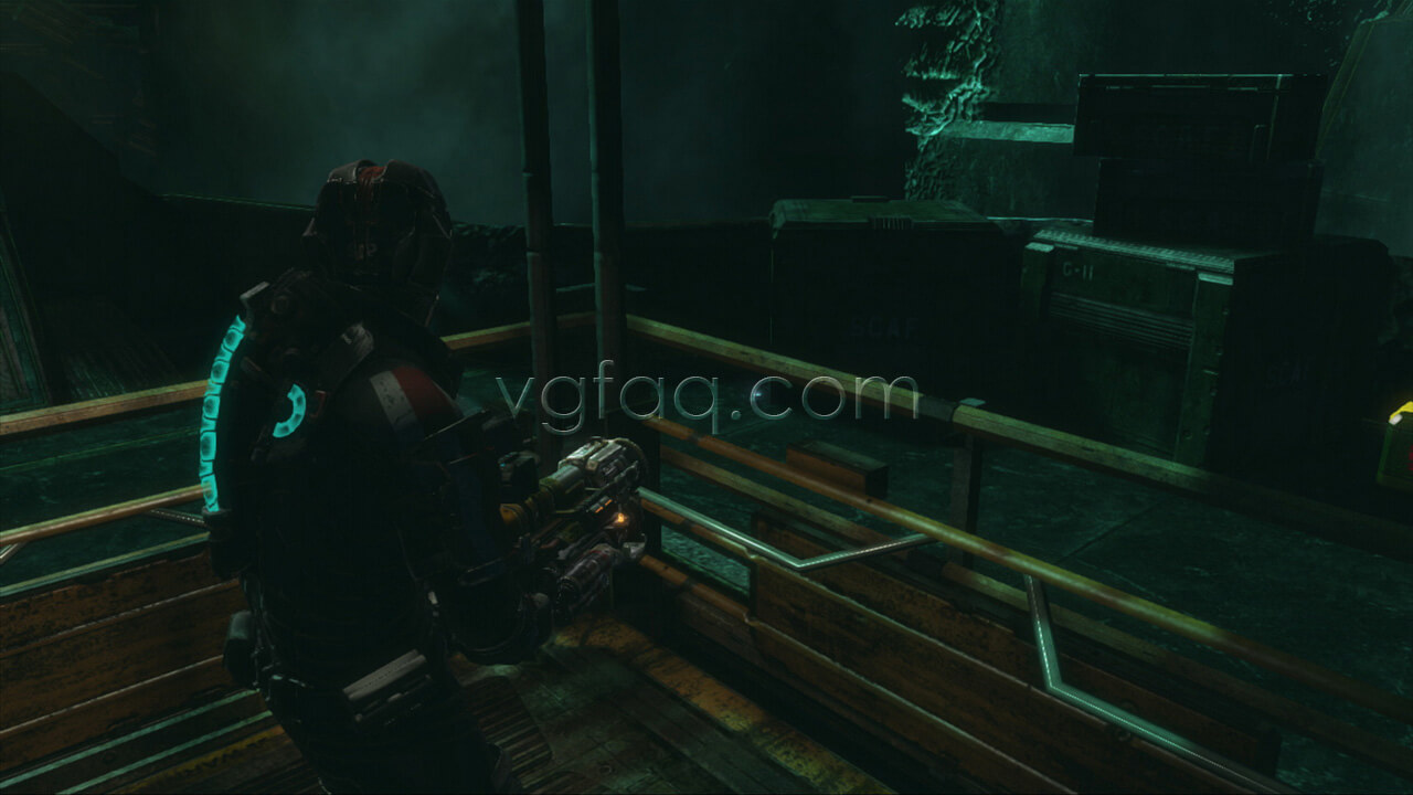 dead space 3 how to clear the cargo