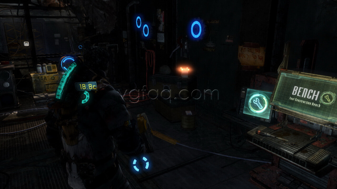 Dead space 3 chapter 9 collectibles locations vgfaq dead space 3 chapter 9 weapon part 1 location malvernweather Image collections