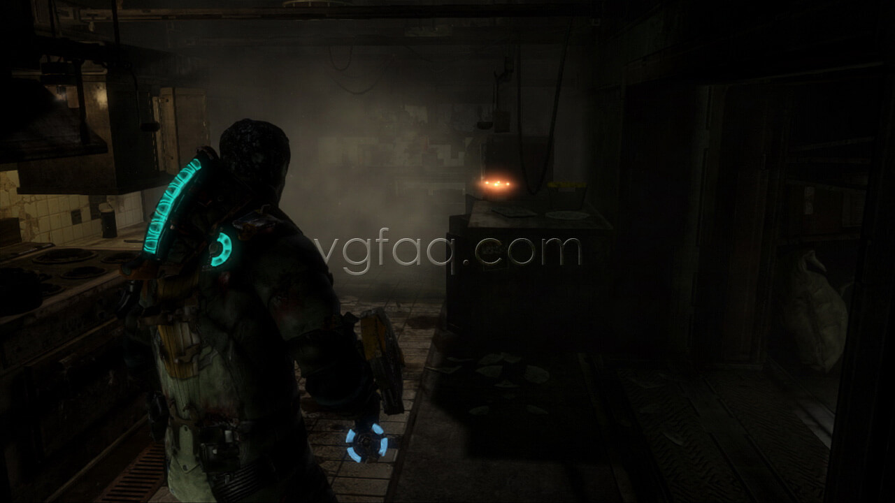 Dead space 3 chapter 9 collectibles locations vgfaq dead space 3 chapter 9 weapon part 2 location malvernweather Image collections