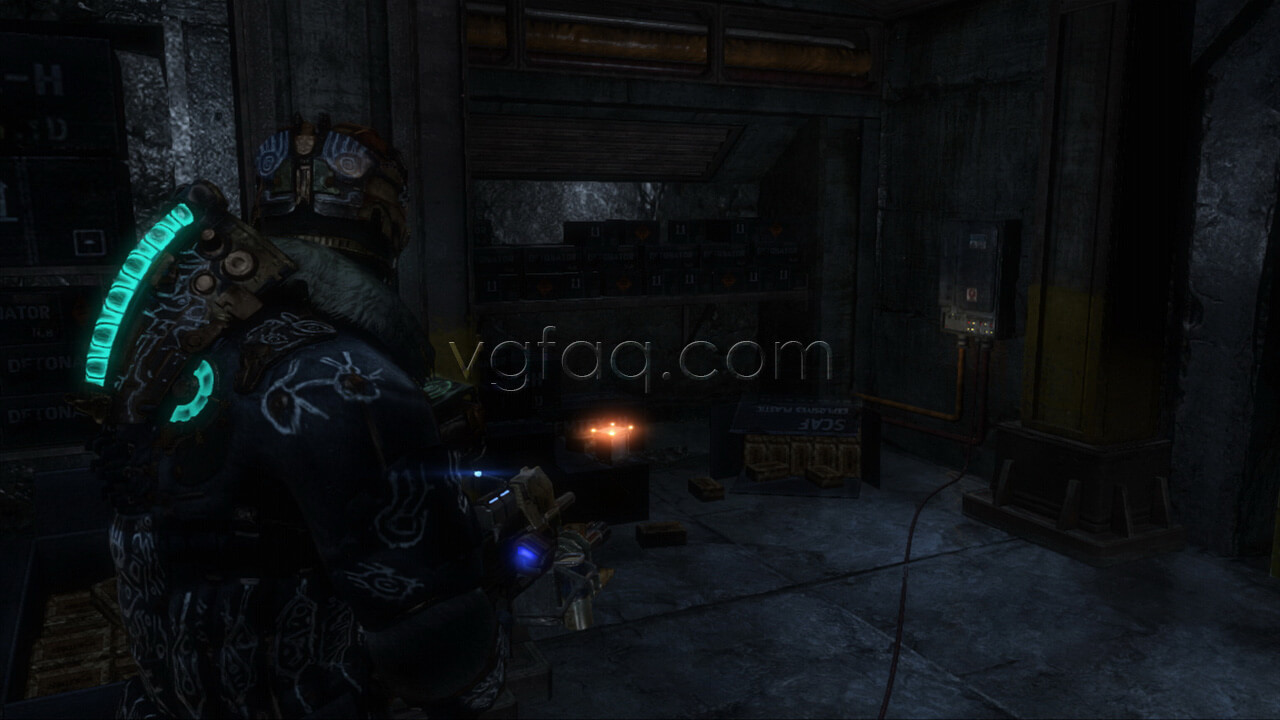 Weapon Part 4 Earth Gov Frame dead space 3 chapter 14 collectibles locations vgfaq dead space 3 chapter 13 fuse box at nearapp.co