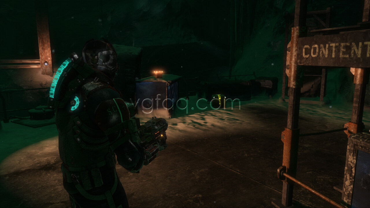 Dead space 3 chapter 16 collectibles locations vgfaq dead space 3 chapter 16 weapon part 4 location malvernweather Image collections