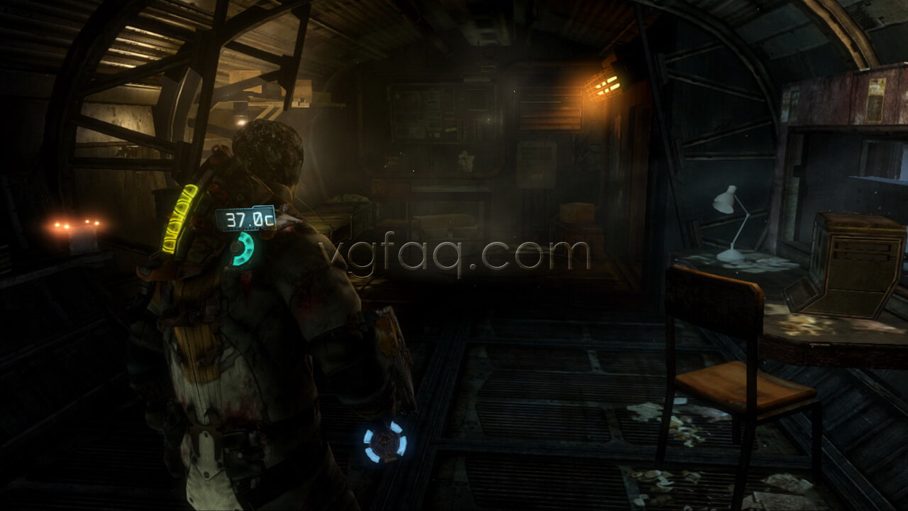 Dead space 3 chapter 9 collectibles locations vgfaq dead space 3 chapter 9 weapon part 4 location malvernweather Image collections
