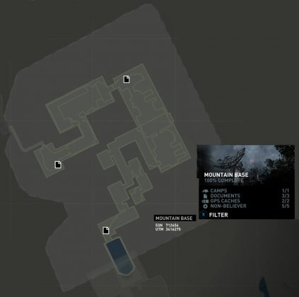 Tomb Raider Mountain Base Documents Locations