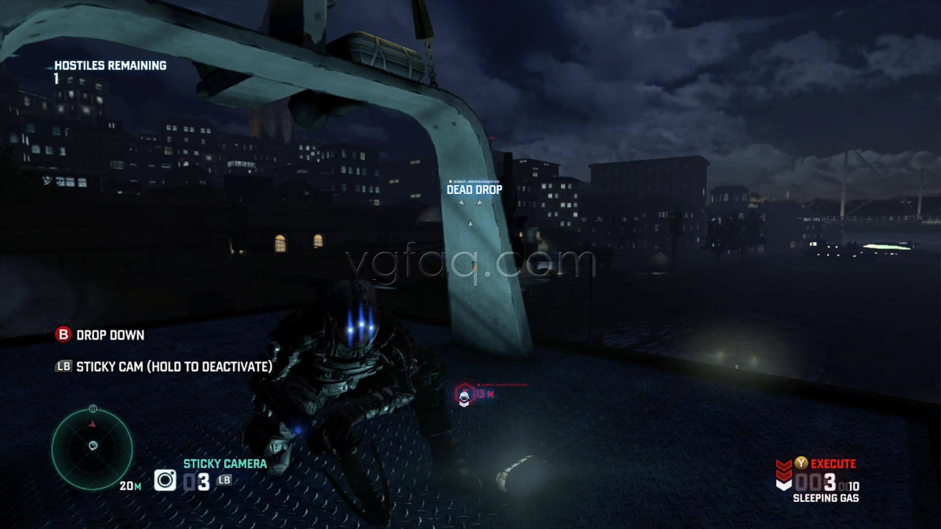 Splinter Cell Blacklist Fish Market Dead Drop Location