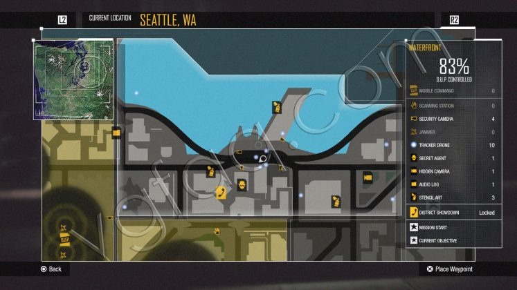 inFamous: Second Son Waterfront District