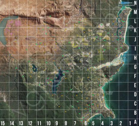 Forza Horizon 3 Reward Boards Locations Map Grid