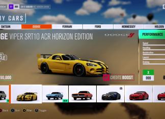 Forza Horizon 3 Fast Credits Guide
