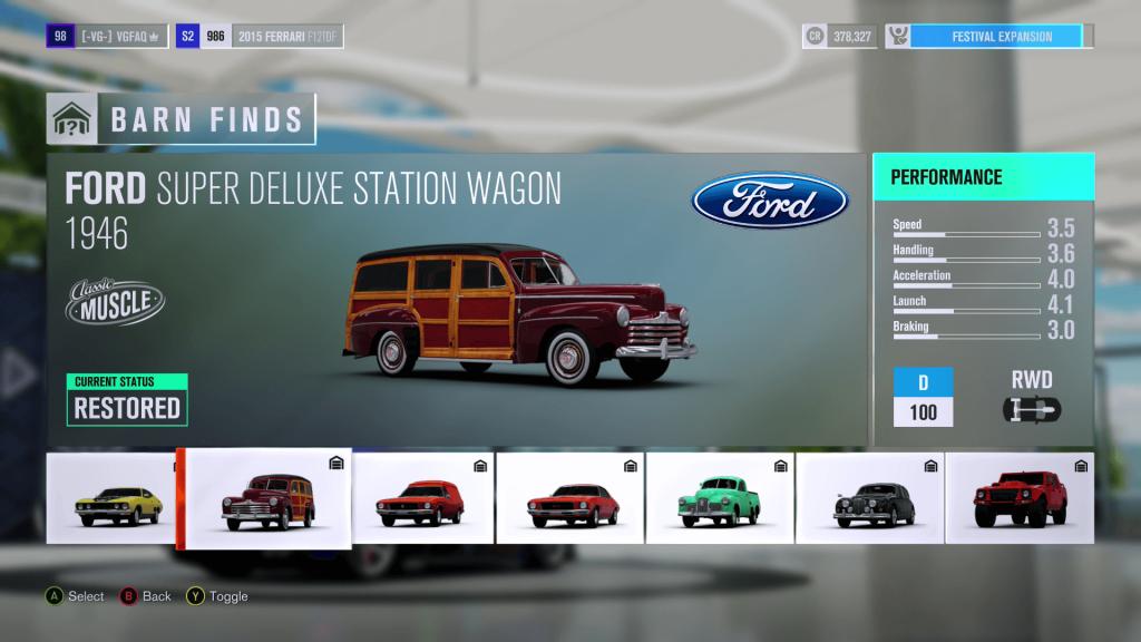 Forza Horizon 3 Barn Finds Locations Guide - VGFAQ
