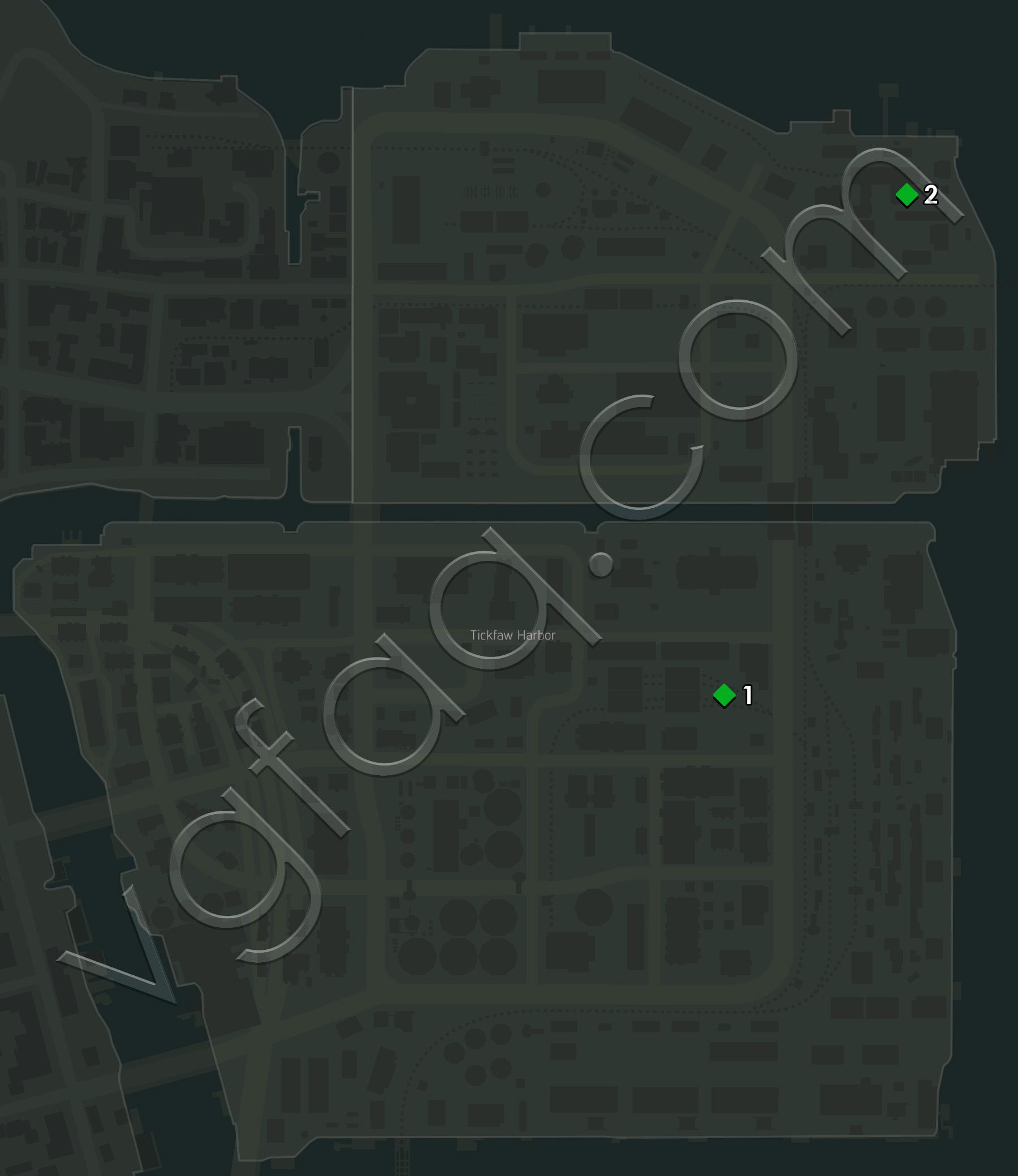 Mafia  Hidden Cars Map
