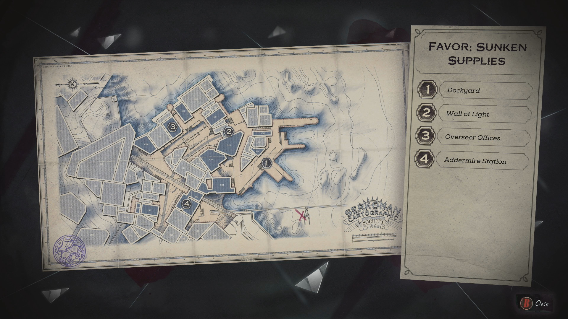 Dishonored 2 Mission 2 Collectibles Locations Guide Vgfaq
