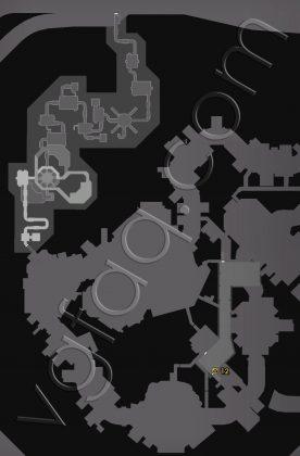 Dead Rising 4 Willamette Memorial Megaplex Zombie Tags Locations Map - Underground