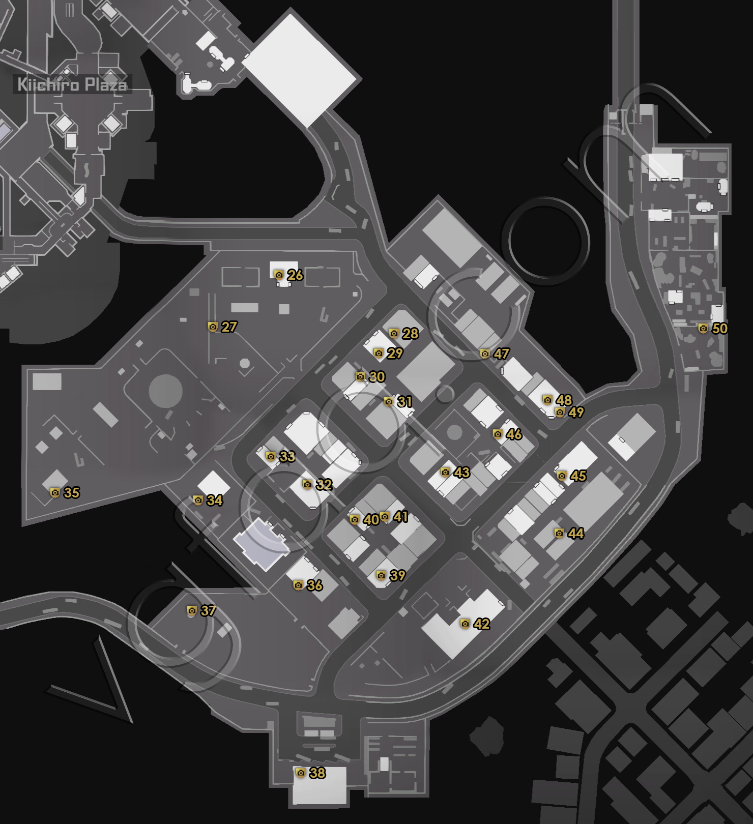 Dead Rising 4 Old Town Zombie Tags Locations Map
