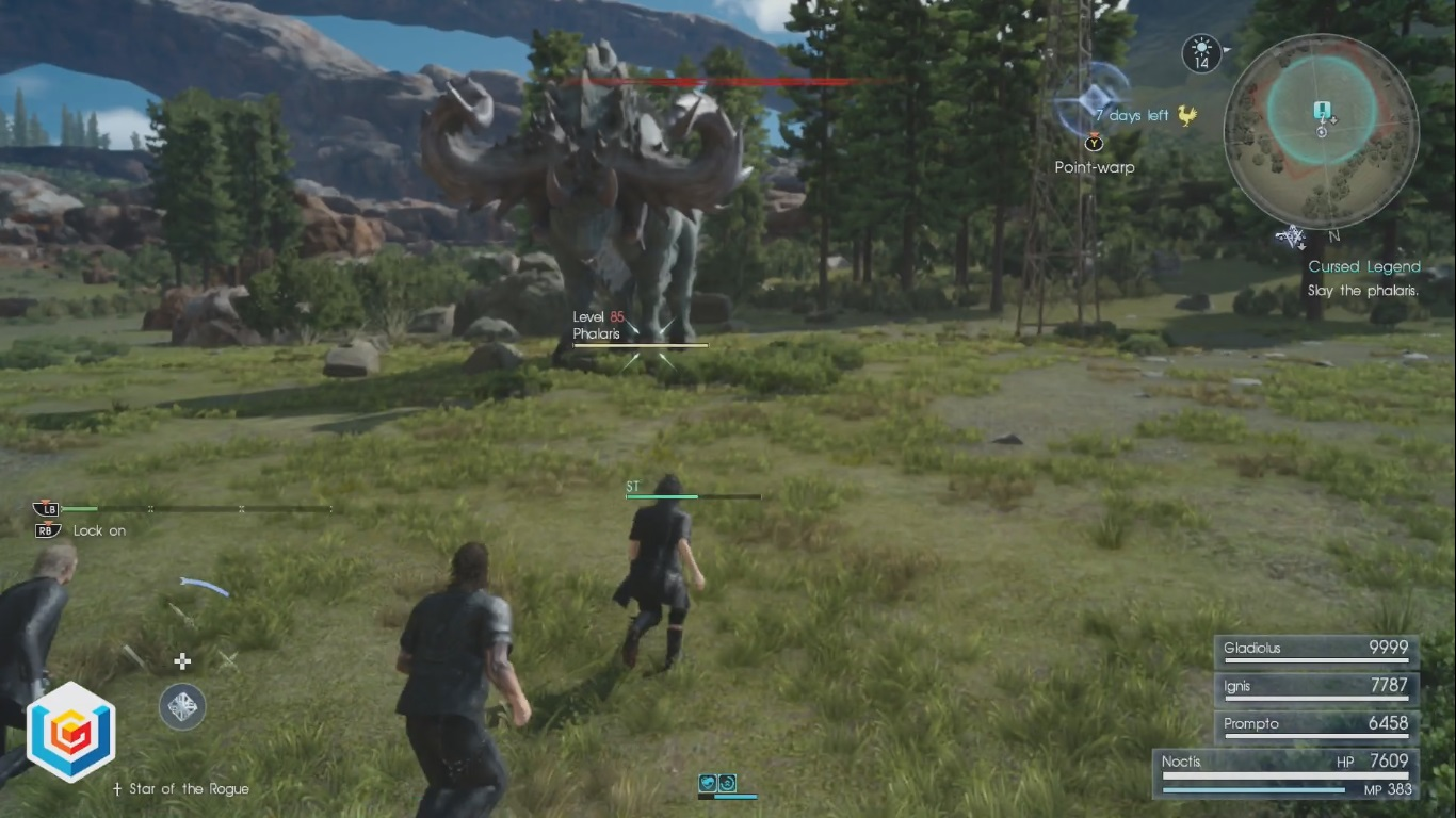 Final Fantasy XV Cursed Legend Side Quest Walkthrough
