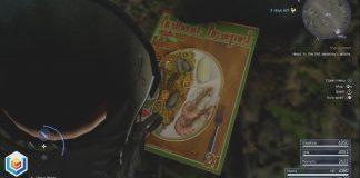 Final Fantasy XV Secret Recipes Magazines Locations Guide