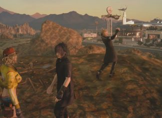 Final Fantasy XV The Hallowed Hill of Hammerhead Side Quest Walkthrough