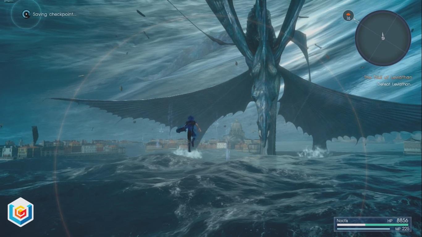 final fantasy xv the trial of leviathan main quest walkthrough vgfaq