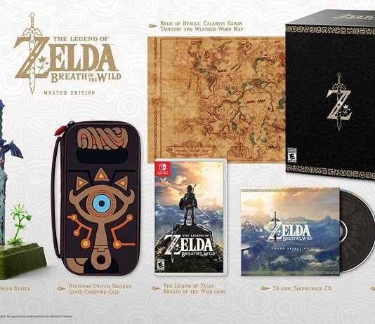 Nintendo Switch The Legend of Zelda Breath of the Wild Master Edition