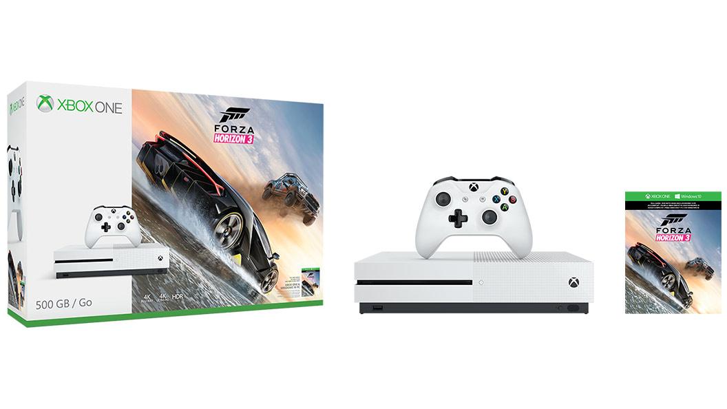 Xbox One S Forza Horizon 3 And Halo Wars 2 Bundles Announced