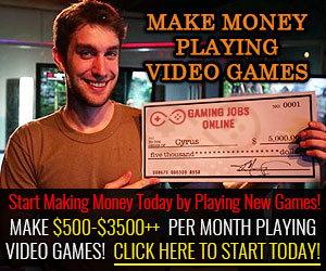 Get Paid To Play and Test Games