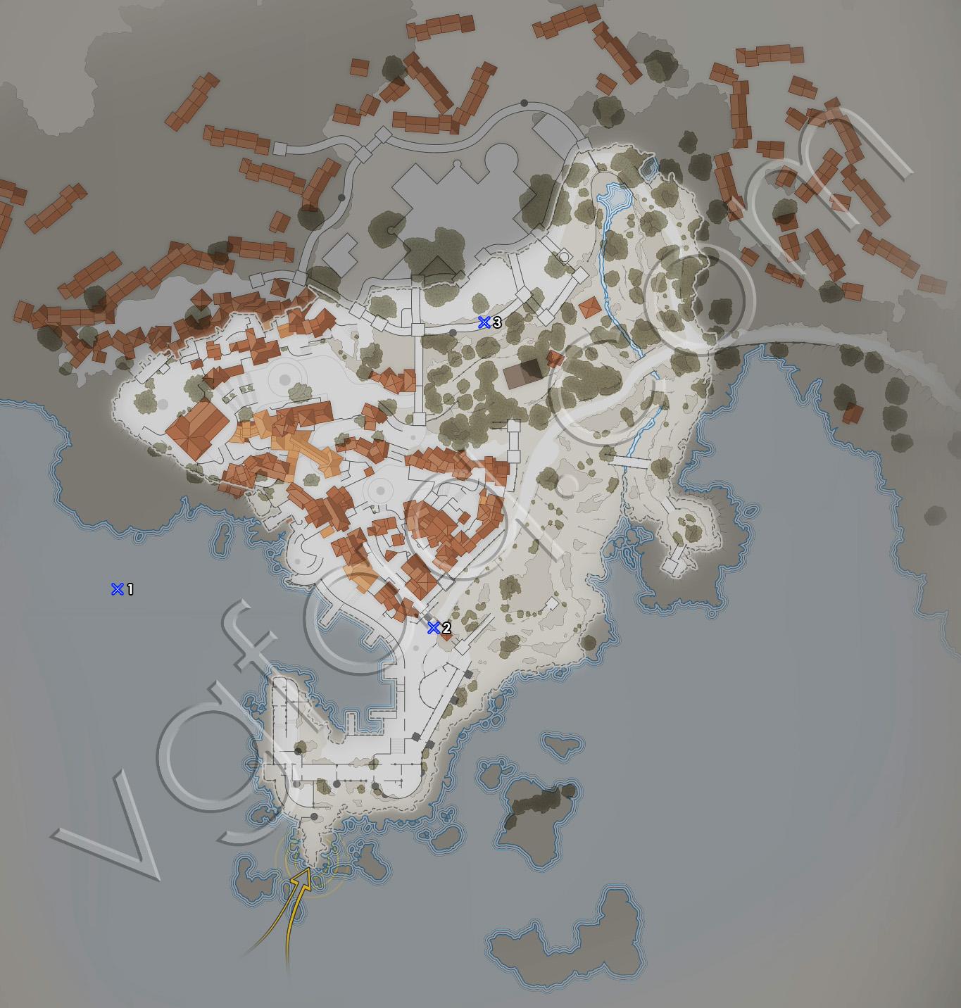 Sniper Elite 4 Mission 2 Deadeye Targets Locations Map
