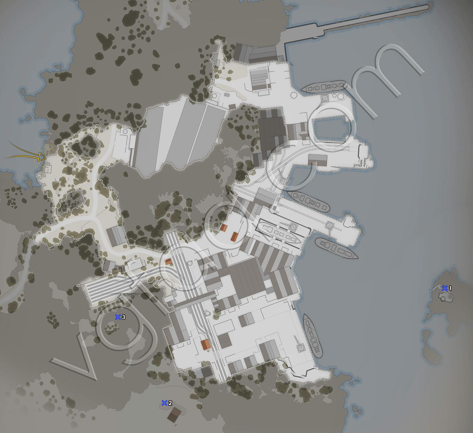 Sniper Elite 4 Mission 4 Deadeye Targets Locations Map