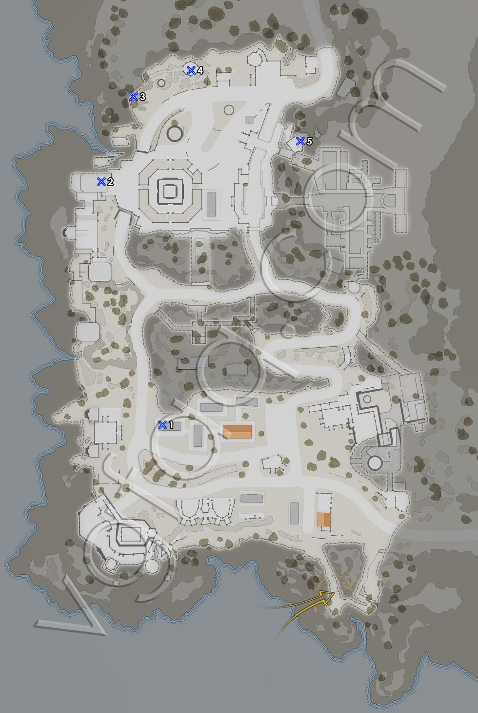 Sniper Elite 4 Mission 6 Sniper Reports Locations Map