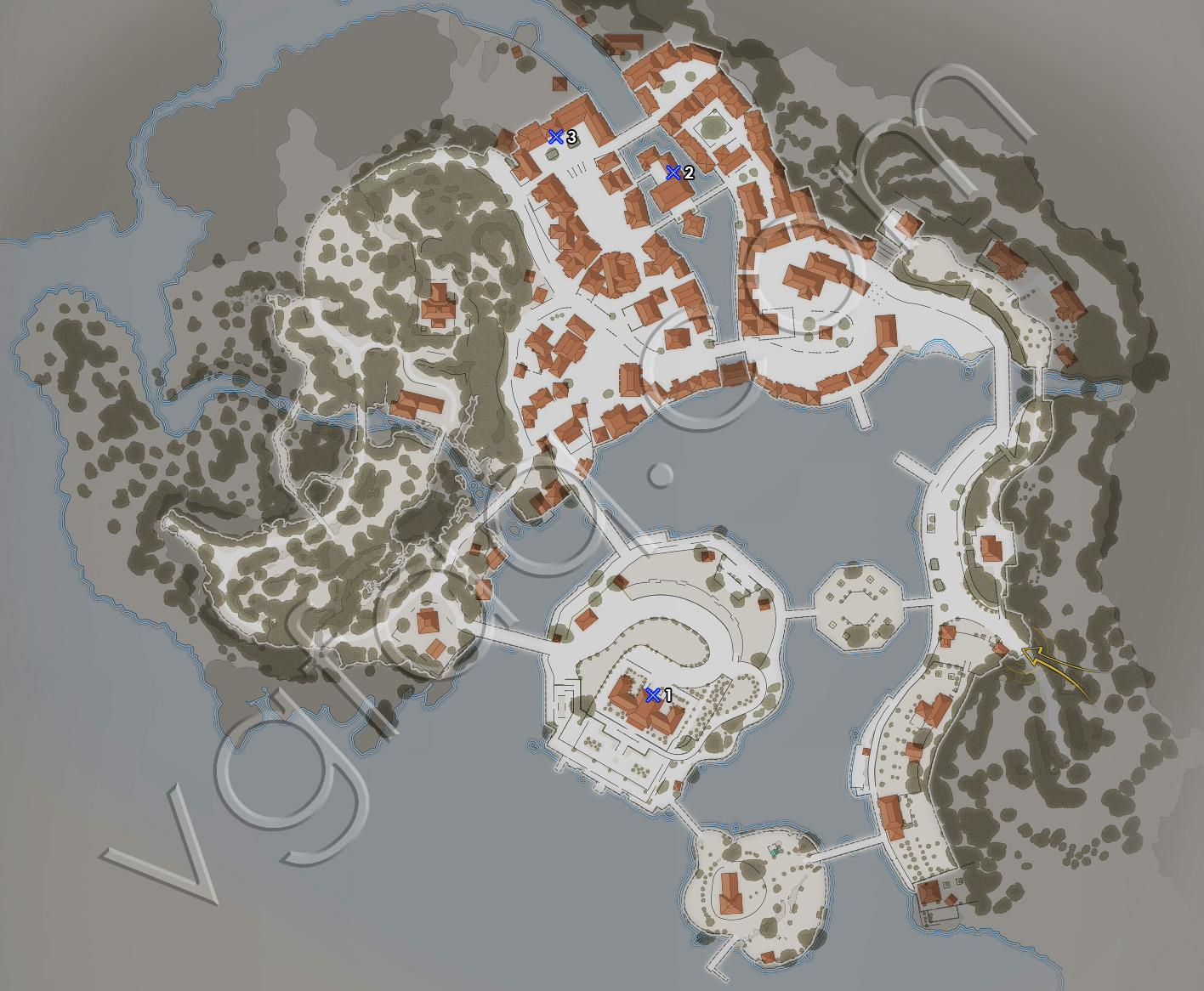 Sniper Elite 4 Mission 7 Deadeye Targets Locations Map