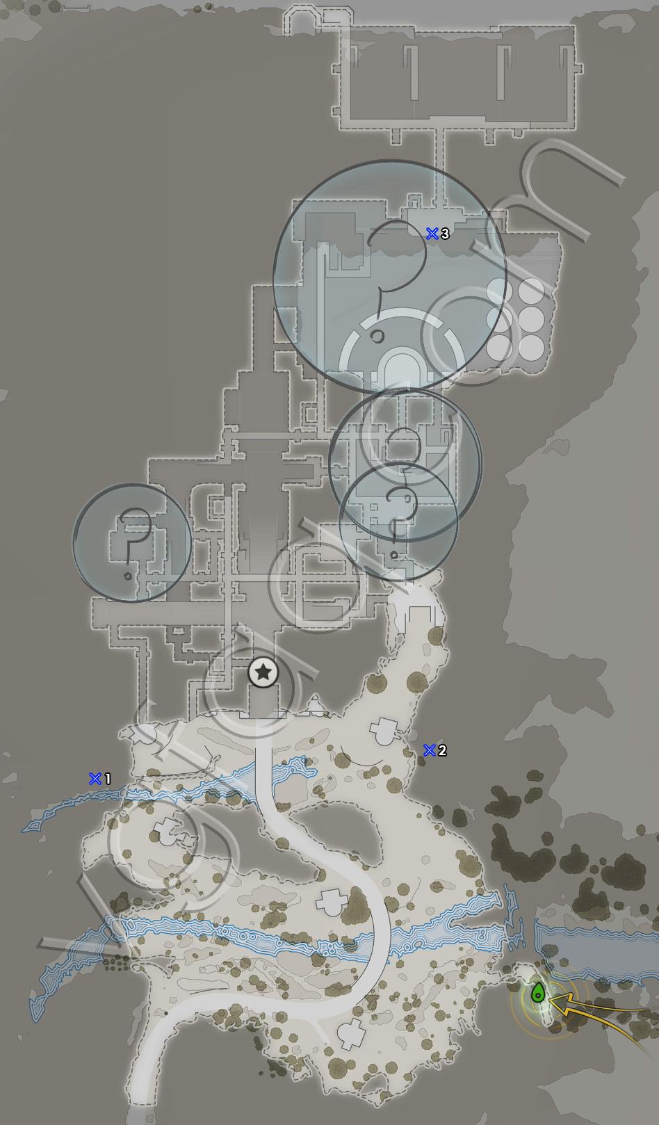 Sniper Elite 4 Mission 8 Deadeye Targets Locations Map