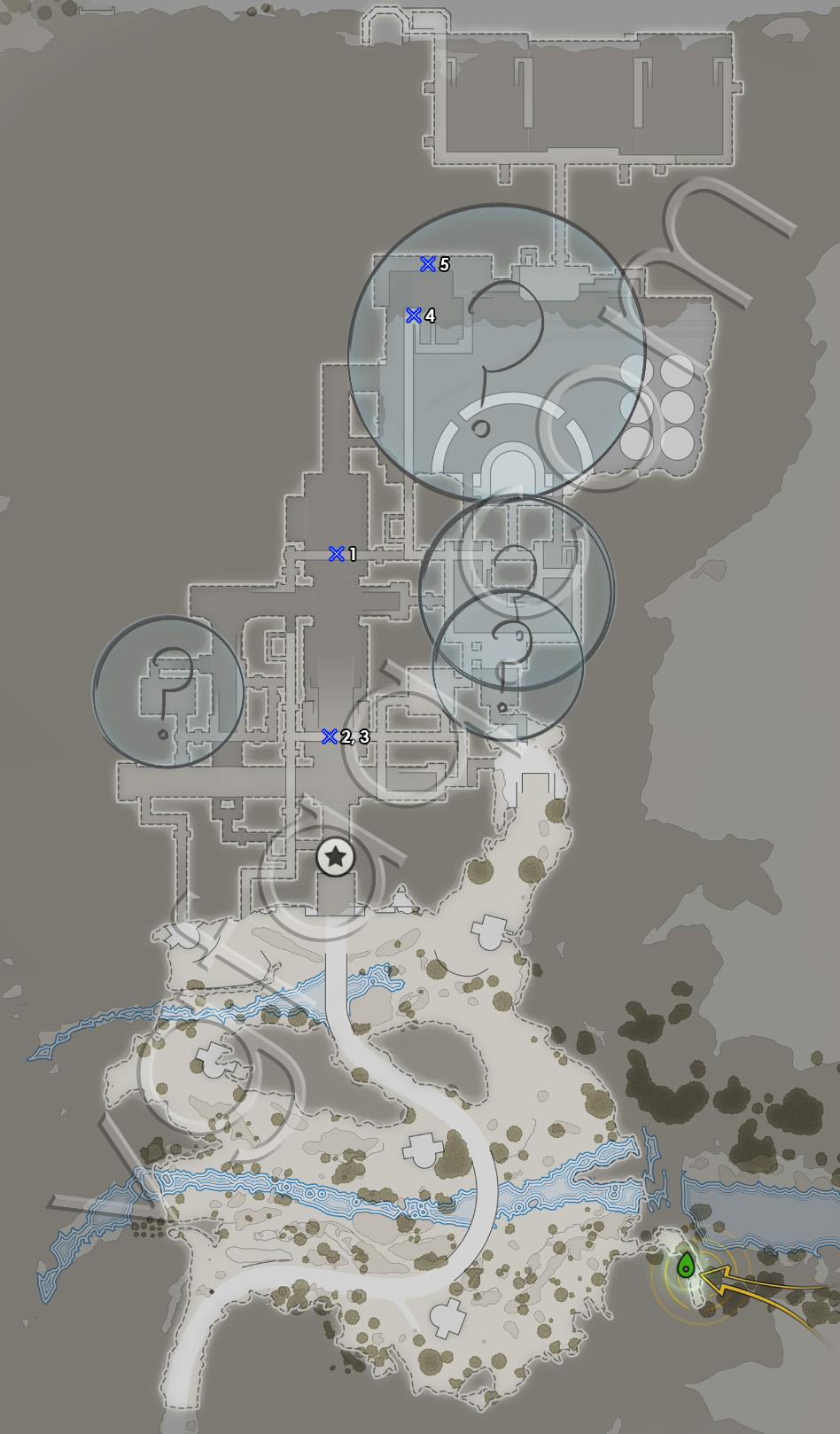 Sniper Elite 4 Mission 8 Sniper Reports Locations Map