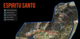 Ghost Recon: Wildlands Espiritu Santo Collectables Map