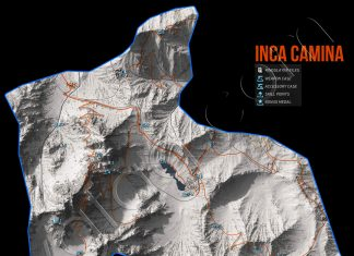 Ghost Recon Wildlands Inca Camina Collectables Map