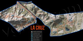 Ghost Recon: Wildlands La Cruz Collectables Map