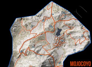 Ghost Recon Wildlands Mojocoyo Collectables Map