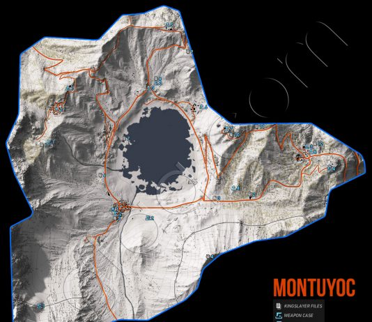 Ghost Recon Wildlands Montuyoc Collectables Map