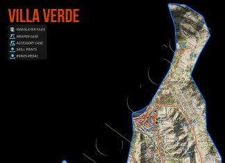 Ghost Recon Wildlands Villa Verde Collectables Map