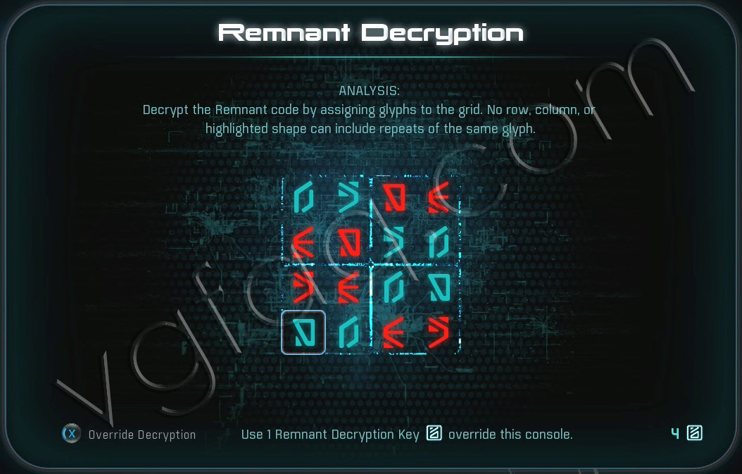 Mass Effect Andromeda Remnant Decryption Puzzle - Elaaden - Free Roam